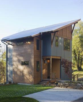Architect Daryl Rantis small custom home