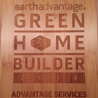 Green Hammer Named 2014 Earth Advantage LEED® for Homes Builder of the Year