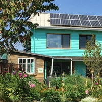 Green Hammer Project, Cash House, Featured in Home Power Magazine