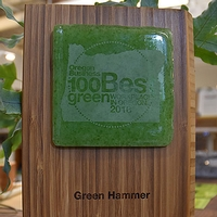 Green Hammer Recognized For Green Business Practices